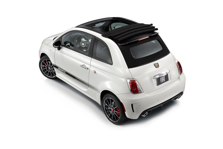 Abarth 595 C Cabrio 1.4 T-Jet 165PS Turismo 70th 2Dr Auto [Automatica] back view