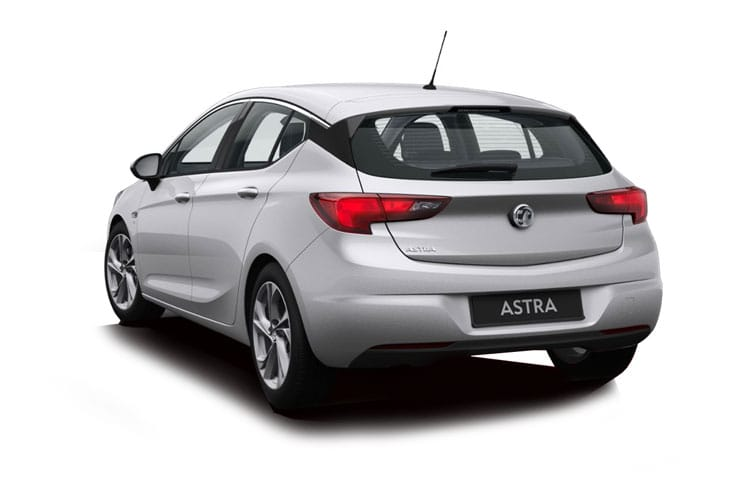 Vauxhall Astra Hatch 5Dr 1.5 Turbo D 105PS SRi 5Dr Manual [Start Stop] back view