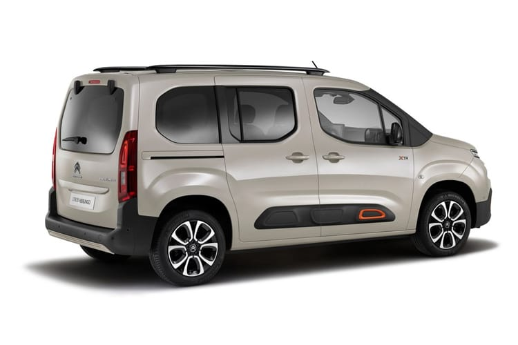 Citroen Berlingo XL MPV 1.2 PureTech 110PS Flair 5Dr Manual [Start Stop] back view