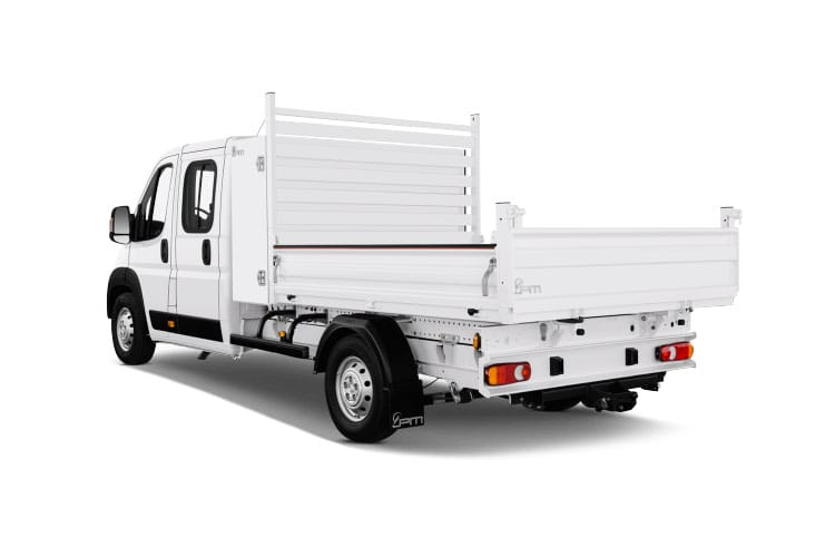 Peugeot Boxer 335 L2 2.2 BlueHDi FWD 165PS Built for Business Plus Tipper Manual [Start Stop] back view