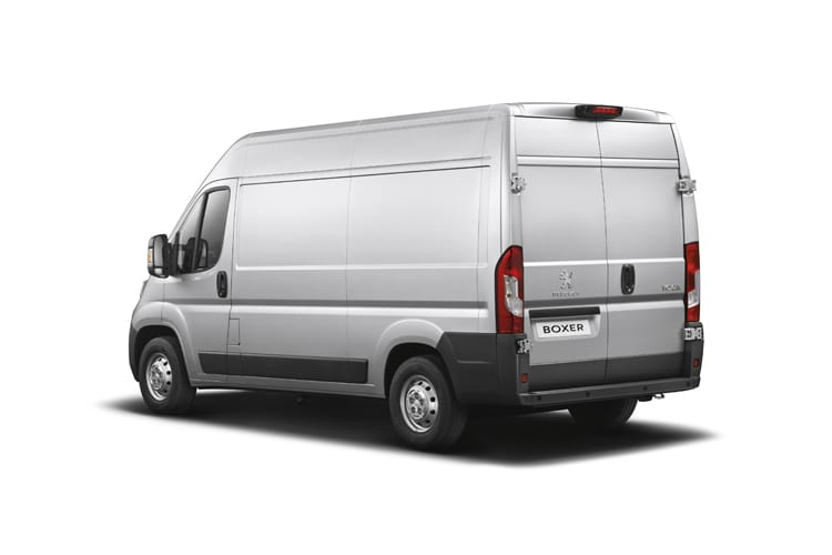 Peugeot Boxer 335 L3 2.2 BlueHDi FWD 140PS Professional Van Extra High Roof Manual [Start Stop] back view