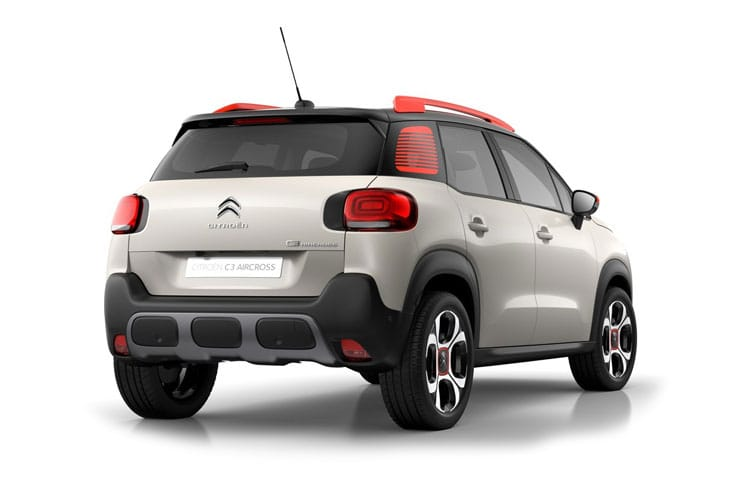 Citroen C3 Aircross SUV 1.2 PureTech 110PS Feel 5Dr Manual [Start Stop] back view