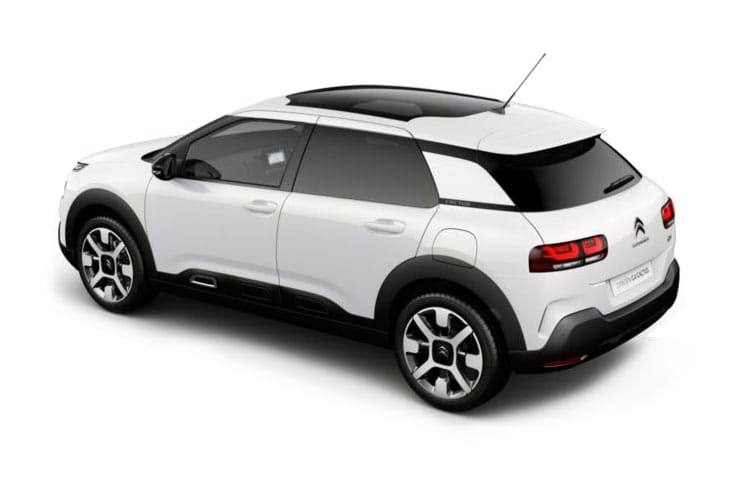 Citroen C4 Cactus Hatch 5Dr 1.5 BlueHDi 100PS Flair 5Dr Manual [Start Stop] back view