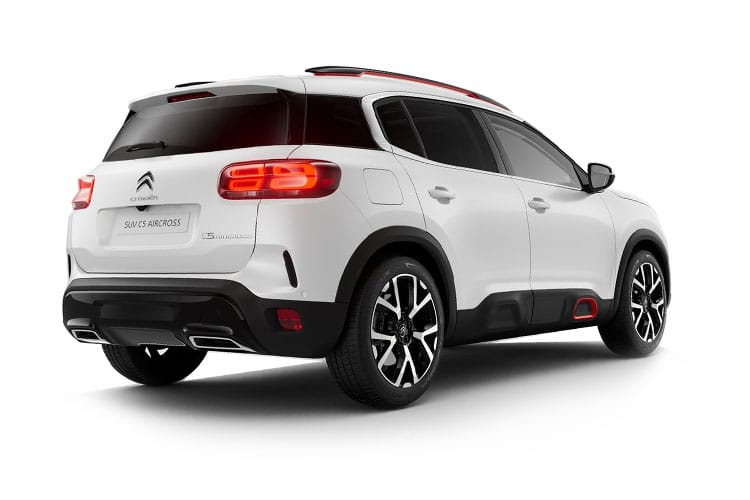 Citroen C5 Aircross SUV 1.2 PureTech 130PS Feel 5Dr Manual [Start Stop] back view