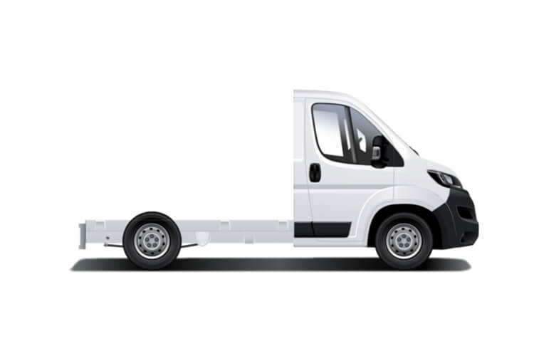 Peugeot Boxer 335 L3 2.2 BlueHDi FWD 140PS Built for Business Plus Dropside Manual [Start Stop] back view