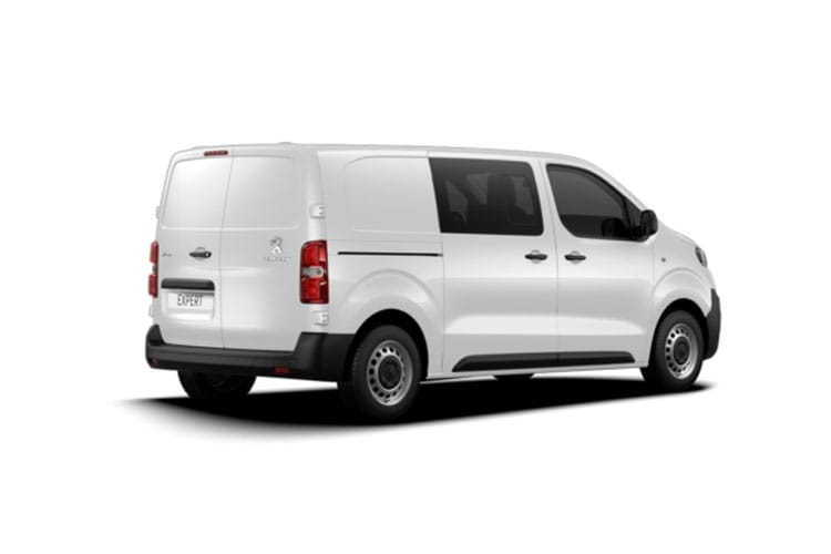 Peugeot Expert Long 1400Kg 2.0 BlueHDi FWD 120PS Professional Crew Van Manual [Start Stop] back view