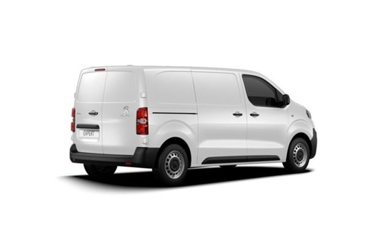 Peugeot Expert Long 1200Kg 1.5 BlueHDi FWD 100PS Professional Van Manual [Start Stop] back view