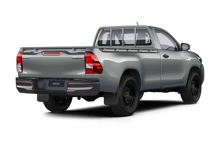 Toyota Hilux PickUp Double Cab 4wd 2.8 D-4D 4WD 204PS Invincible Pickup Double Cab Auto [Start Stop] back view