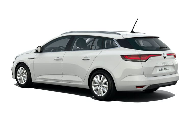 Renault Megane Sport Tourer 1.6 E-TECH PHEV 9.8kWh 160PS Iconic 5Dr Auto [Start Stop] back view