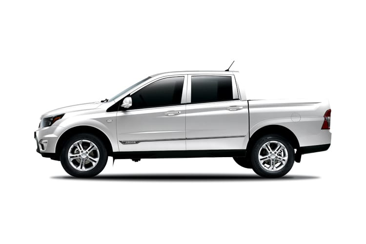 Ssangyong Musso Pick Up Double Cab 4WDS 2.2 d 4WS 181PS Rebel Pickup Double Cab Auto back view
