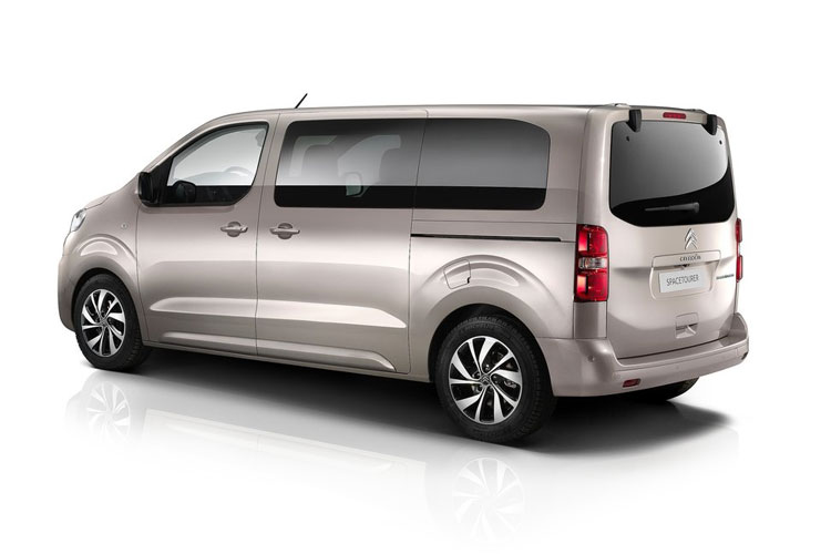 Citroen SpaceTourer e-SpaceTourer M 5Dr Elec 50kWh 100KW FWD 136PS Business MPV Auto [9Seat 7.4kW Charger] back view