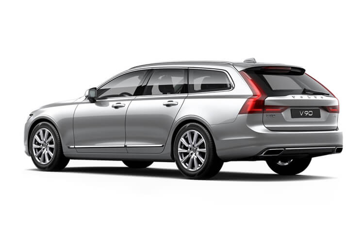 Volvo V90 Estate AWD PiH 2.0 h T6 11.6kWh 340PS R DESIGN 5Dr Auto [Start Stop] back view