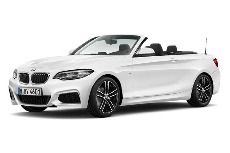BMW 2 Series 218 Convertible 2.0 d 150PS M Sport 2Dr Manual [Start Stop] front view