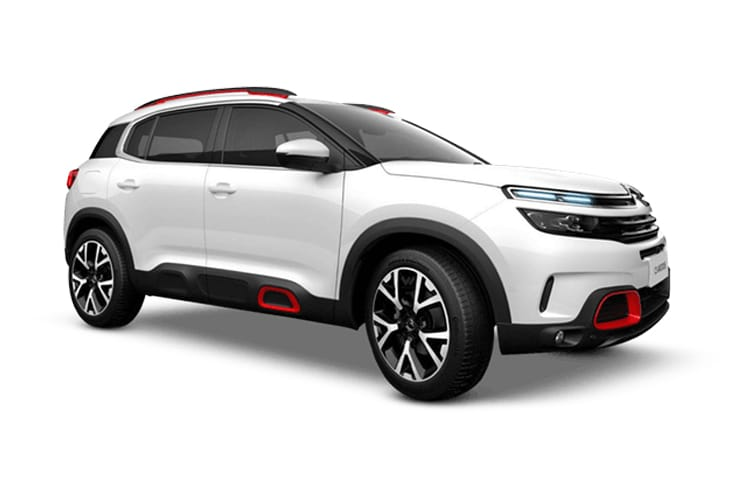 Citroen C5 Aircross SUV 1.2 PureTech 130PS Shine 5Dr Manual [Start Stop] front view