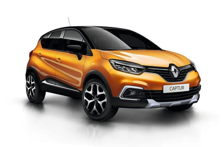 Renault Captur SUV 1.3 TCe 140PS S Edition 5Dr EDC [Start Stop] front view