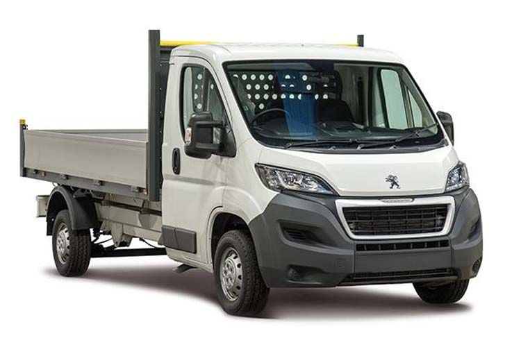 Peugeot Boxer 335 L3 2.2 BlueHDi FWD 140PS Built for Business Plus Dropside Manual [Start Stop] front view