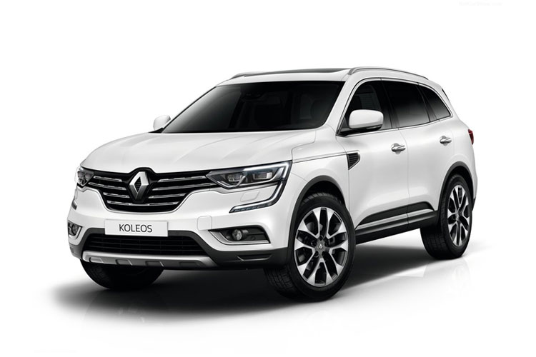 Renault Koleos SUV 2wd 1.7 Blue dCi 150PS GT Line 5Dr X-Trn A7 [Start Stop] front view