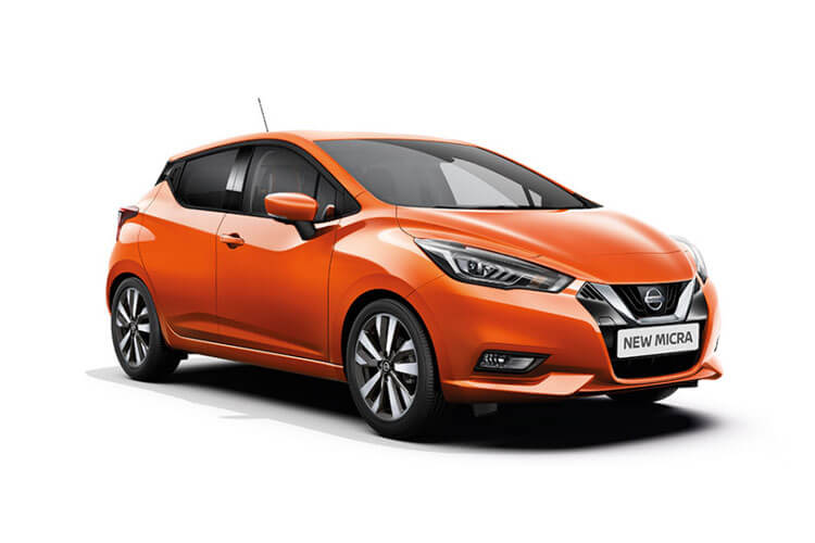 Nissan Micra Hatch 5Dr 1.0 IG-T 92PS N-Sport 5Dr Manual [Start Stop] [Navi] front view