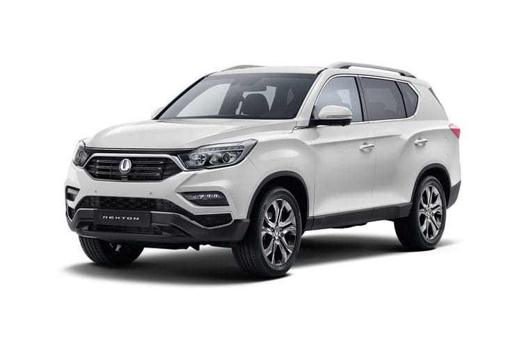 Ssangyong Rexton SUV 4wd Selectable 2.2 D 181PS EX 5Dr T-Tronic [7 Seat] front view