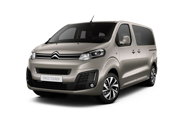 Citroen SpaceTourer e-SpaceTourer M 5Dr Elec 50kWh 100KW FWD 136PS Business MPV Auto [9Seat 7.4kW Charger] front view