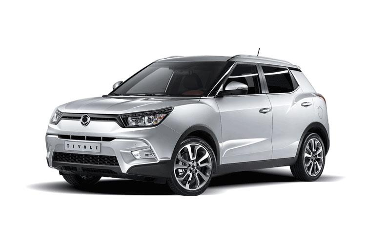 Ssangyong Tivoli SUV 5Dr 1.6 P 128PS LE 5Dr Manual [Start Stop] front view