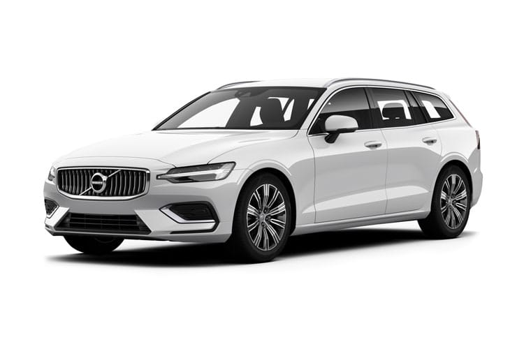 Volvo V60 Estate 2.0 B5 MHEV 250PS Inscription 5Dr Auto [Start Stop] front view