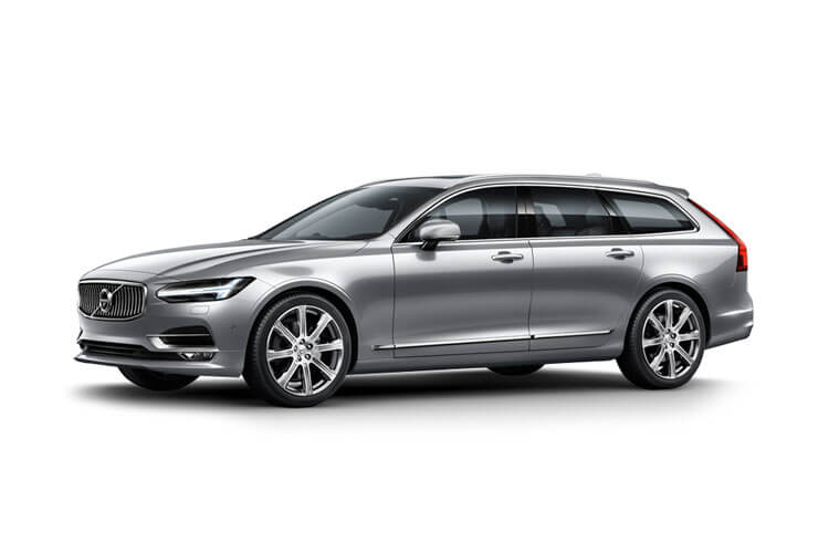 Volvo V90 Estate AWD PiH 2.0 h T6 11.6kWh 340PS R DESIGN 5Dr Auto [Start Stop] front view