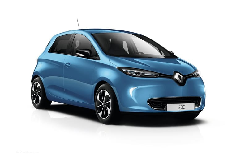 Renault Zoe Hatch 5Dr E R110 52kWh 80KW 107PS i Iconic Rapid Charge 5Dr Auto front view
