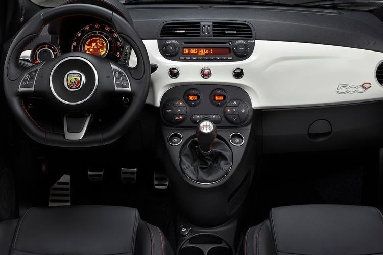 Abarth 595 C Cabrio 1.4 T-Jet 165PS Turismo 70th 2Dr Auto [Automatica] inside view