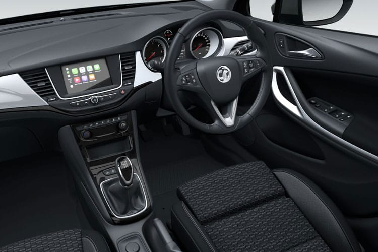 Vauxhall Astra Hatch 5Dr 1.5 Turbo D 105PS SRi 5Dr Manual [Start Stop] inside view