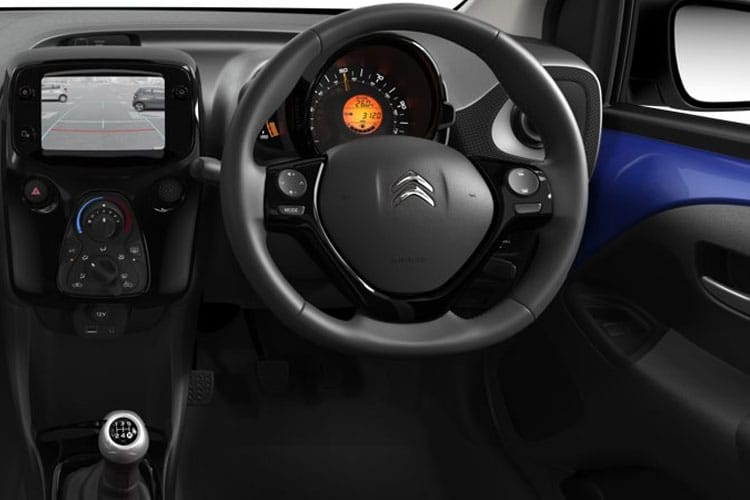 Citroen C1 Hatch 5Dr 1.0 VTi 72PS Feel 5Dr Manual [Start Stop] inside view