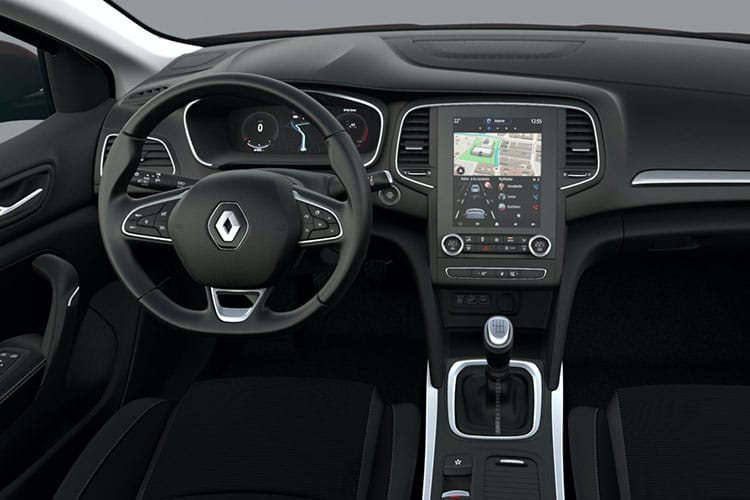 Renault Megane Hatch 5Dr 1.3 TCe 140PS Iconic 5Dr Manual [Start Stop] inside view