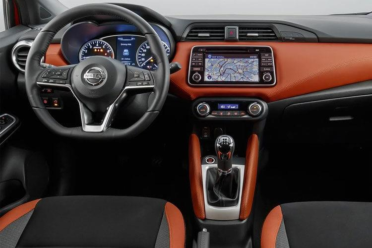 Nissan Micra Hatch 5Dr 1.0 IG-T 92PS N-Sport 5Dr Manual [Start Stop] [Navi] inside view