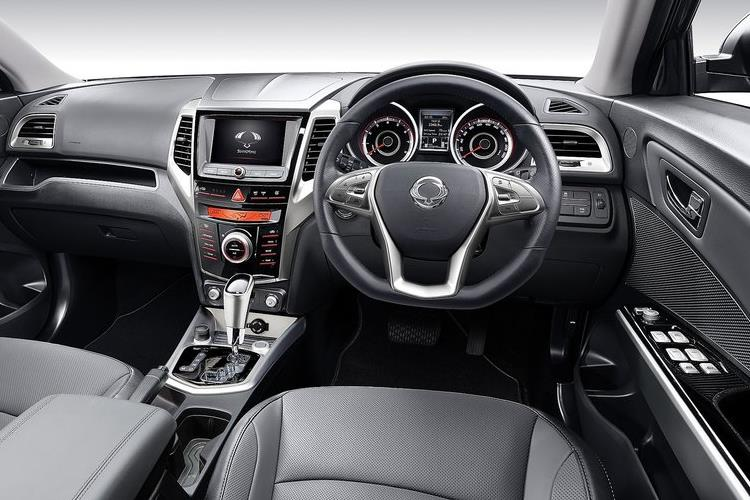 Ssangyong Tivoli XLV SUV 5Dr 1.6 D 115PS Ultimate 5Dr Auto inside view